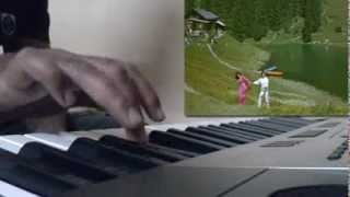Tere mere hoton me Piano Cover