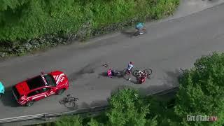 Aanvallersoverwinning Cataldo in vijftiende etappe Giro d'Italia 2019, Roglic verliest kostbare tijd