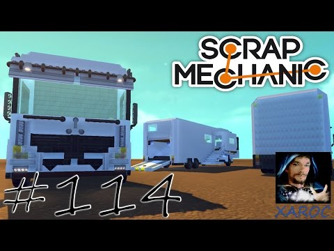 "Daily Scrap Mechanic #114 ""Xaroc baut: Big Luxus Camper [Teil 4]"" ★ Let's play HD deutsch"