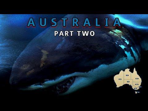 Monster White Shark Sightings In Australia (Locations) Part Two