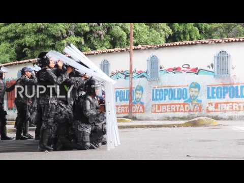 Venezuela: Fiery clashes in Valencia as protesters battle police over Constituent Assembly
