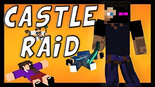 Castle Raid 1 - 8 Complete series / Minecraft song and Animation Video