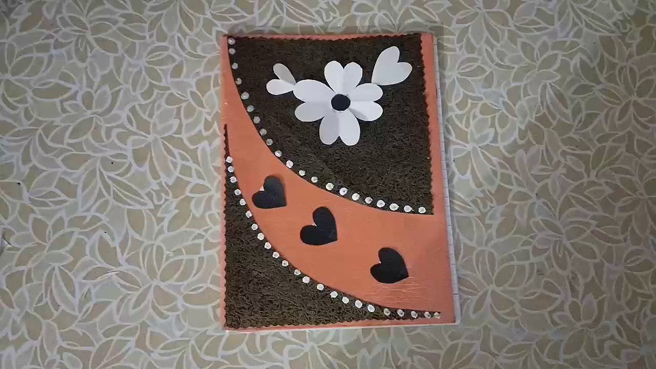 Diy 2 Notebook Cover Design How To Decorate Notebook Cover