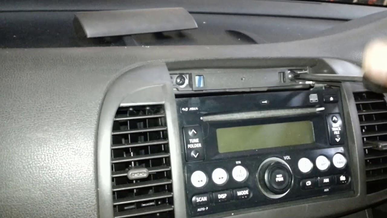 Jak Wymontować Radio Nissan Micra K12 – Moto