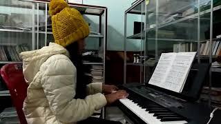BN - Giáng sinh đã về piano - Bé Ruy-na
