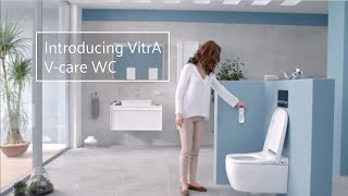 Introducing VitrA V-care WC, the new generation of shower toilet