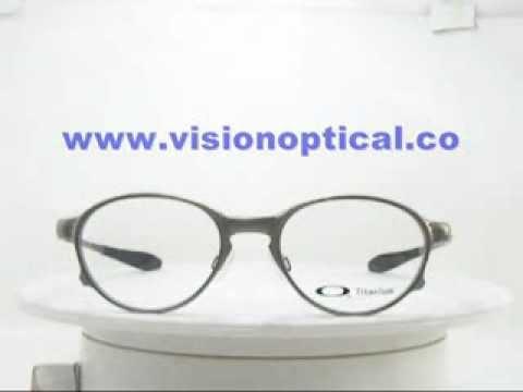 1ef5359057 oakley overlord OX5067 0151 Titanium eyewear metal frame - YouTube