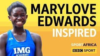 Meet Marylove Edwards, Nigeria's 13 year-old tennis sensation - BBC Sport Africa