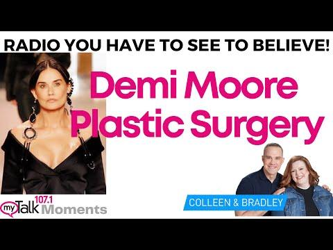 Demi Moore Plastic Surgery Confirmed Blind Item