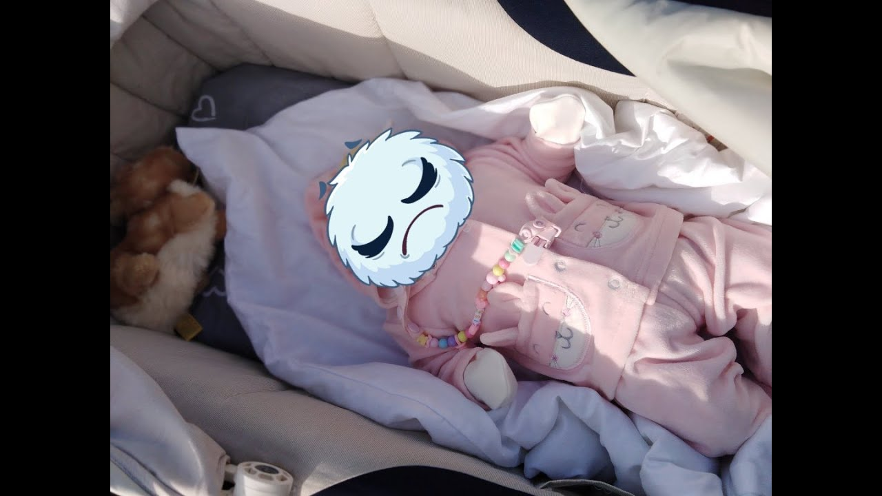 Рождение новой крохи. Новая кукла Реборн. Прогулка в ...