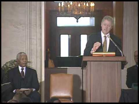 Nelson Mandela Presented with the Congressional Gold Medal (1998)