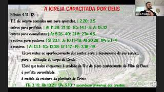 Estudo Bíblico - Efésios 4.11-13 - 30/06/2021