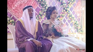 ALIKIBA weds Aminah Rikesh, The Reception in Mombasa Kenya
