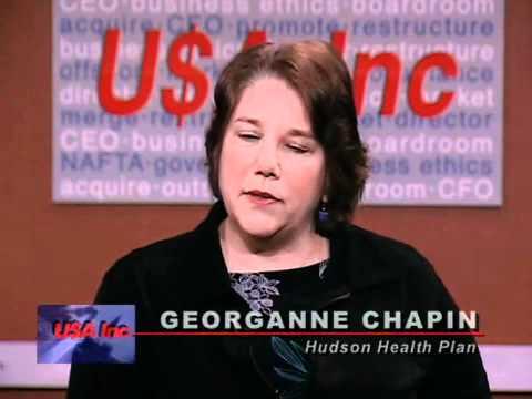 USA Inc: Georganne Chapin, pres. & CEO of Hudson Health Plan