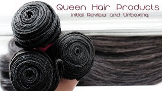 ♡ Aliexpress Queen Hair Products: Initial Review/Unboxing!
