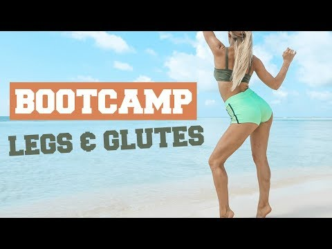 LOWER BODY BOOTCAMP - Intense Leg & Glute Exercises | Rebecca Louise