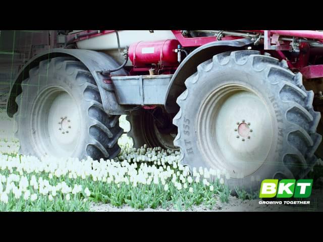 BKT Radial Tractor Tires || Sprayer || Agrimax RT 855
