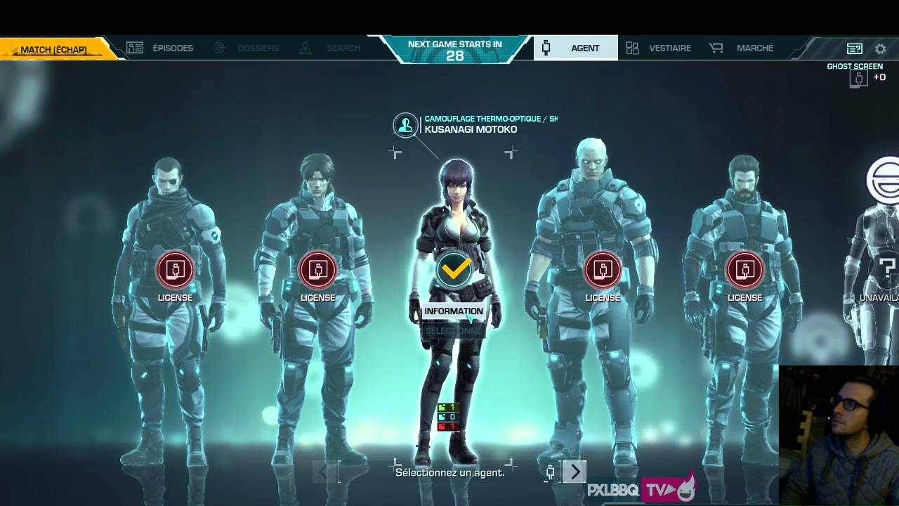 Fr Ghost In The Shell Live Gameplay Decouverte Steam Youtube
