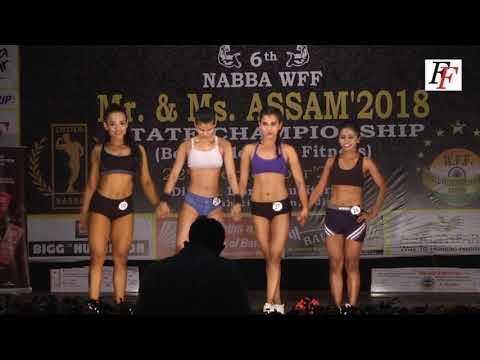 NABBA WFF Mr.  & Ms.  Assam 2018  Women's Sport Model