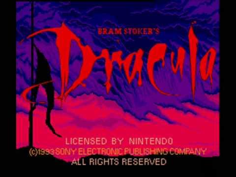 Bram Stoker's Dracula SNES Music - Title