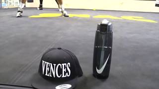 Andy Vences Preps at SNAC for Nov. 11 fight