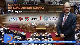 Νέος πρόεδρος της Βουλής ο Κωνσταντίνος Τασούλας - Μεσημεριανό Δελτίο 18/7/2019 | OPEN TV