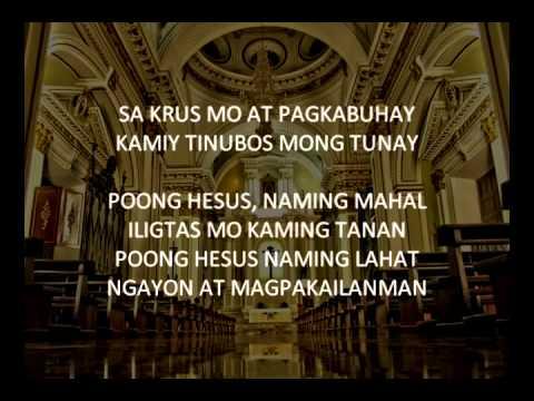 Sa Krus Mo at Pagkabuhay Instrumental Karaoke