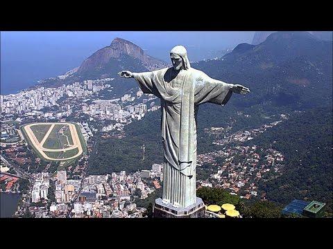 Самая знаменитая статуя в мире. Статуя Христа -Искупителя в Рио -де- Жанейро