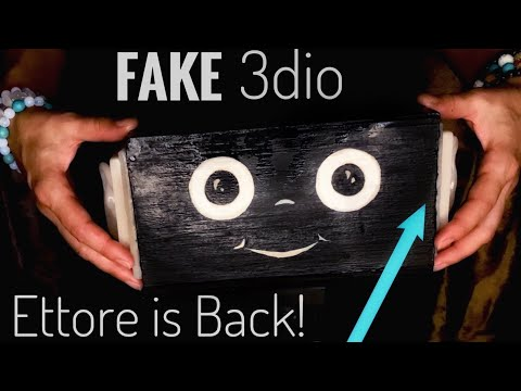 [asmr] STRONG & FAST EAR MASSAGE [fake] [3dio] [DIY] [no talking]