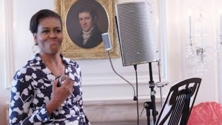 Watch Michelle Obama Rap to Keep Kids in College