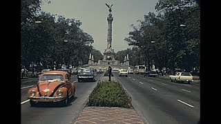 Mexico City 1973 archive footage