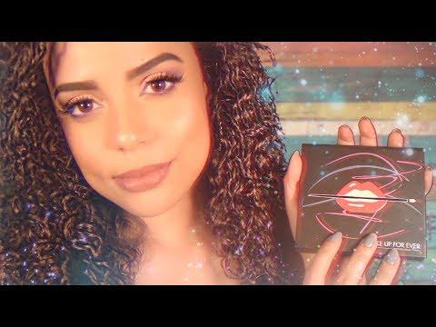 ASMR   Makeup Artist Roleplay (Up Close and Personal) thumbnail