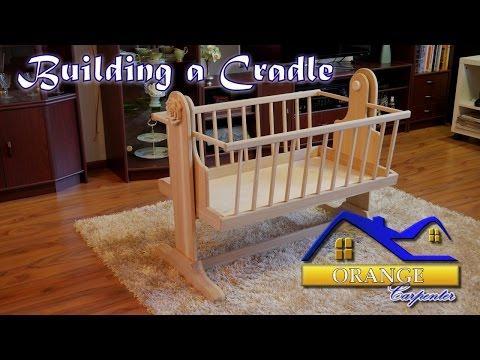 Building an oak cradle