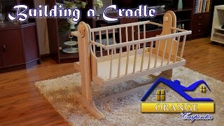 The process of building an oak cradle for newborn. In this video I show what kinds of methods I used to build this baby cradle.
