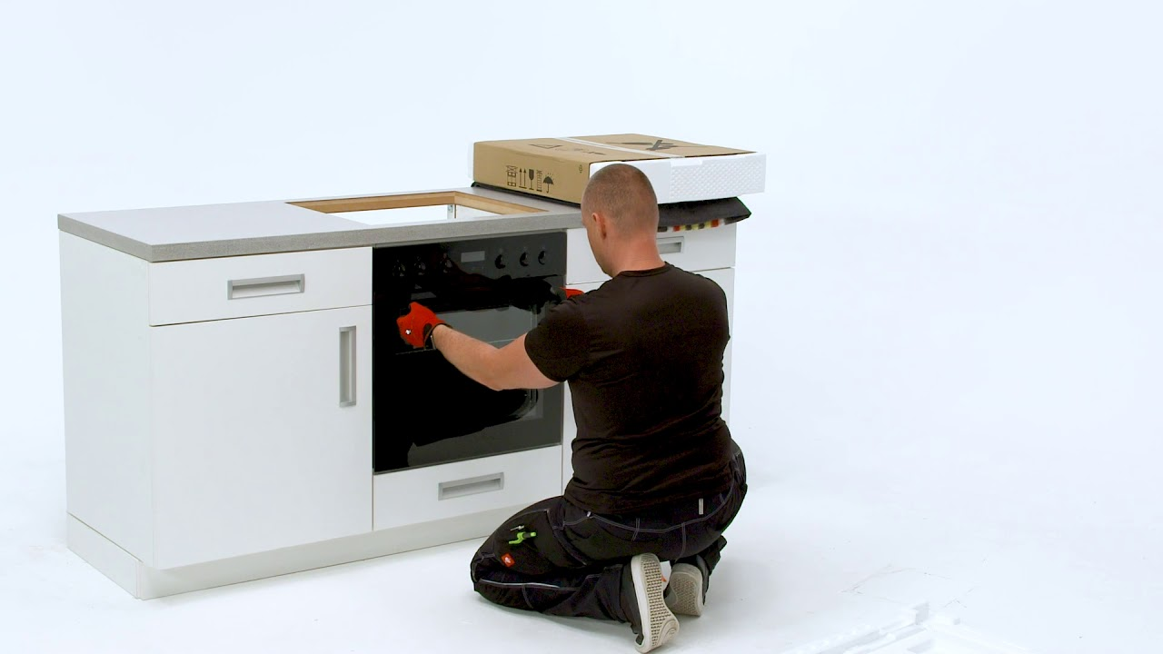 How To Install Your Electrolux Oven With Hob Built Under