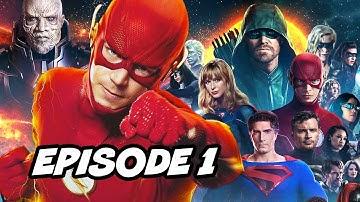 Crisis On Infinite Earths Episode 1 Opening Scene - The Flash Finale Breakdown
