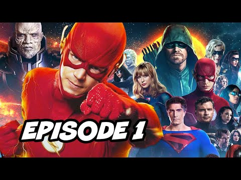 Crisis On Infinite Earths Episode 1 Opening Scene - The Flash Finale Breakdown