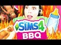 The Sims 4 BBQ Babies *terrifying*