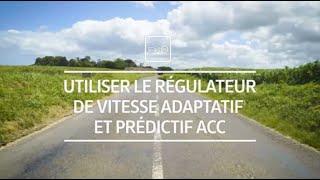Comment utiliser le régulateur de vitesse adaptatif et prédictif 'ACC' I Tutoriel I Volkswagen