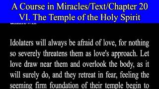 ACIM TEXT 20_6_The Temple of the Holy Spirit