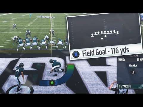 Whats The Longest Possible Field Goal You Can Make in Madden 19?