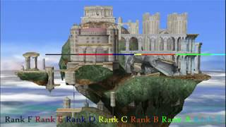 Who can jump the farthest over Hyrule Temple in Melee?