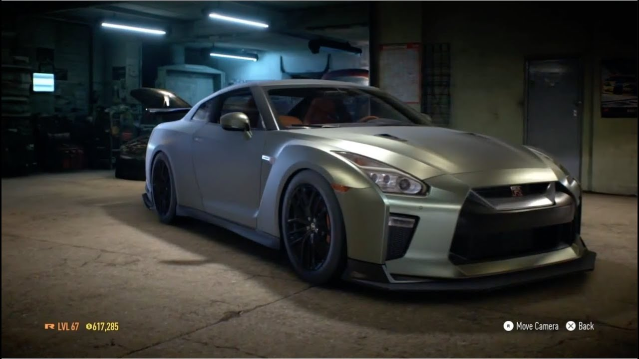 "need for speed 2015 - ""nissan gtr premium 2017"" - 1154 hp build"