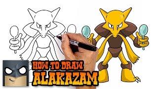 How to Draw Alakazam | Pokemon (Art Tutorial)