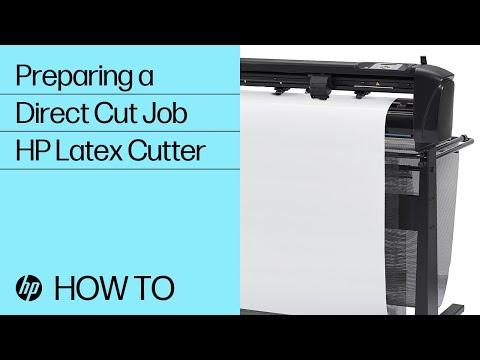 Preparing a Direct Cut Job for the HP Latex Cutter