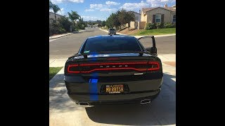 2011-2014 Charger Luxe Tail Light Tint Install!!
