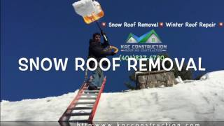 Chepachet snow Roof Removal 💥 (401)837-6730 - KAC Construction