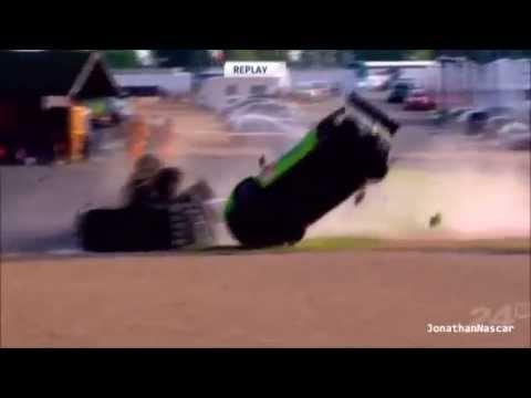Le Mans 24H 2013 Practice Huge Crash Tracy Krohn