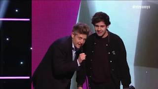 David Dobrik and Kylie Jenner Win the Award for Collaboration | Streamy Awards 2019