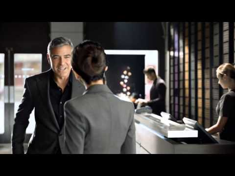Nespresso  Werbung   George Clooney & Nazanin Boniadi in  The Swap